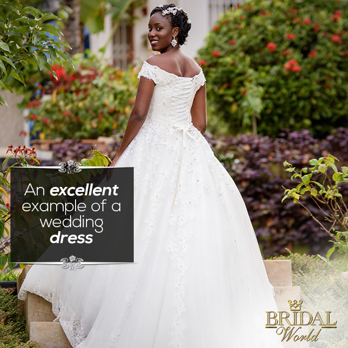 Can you describe your dream wedding dress in five words or less?