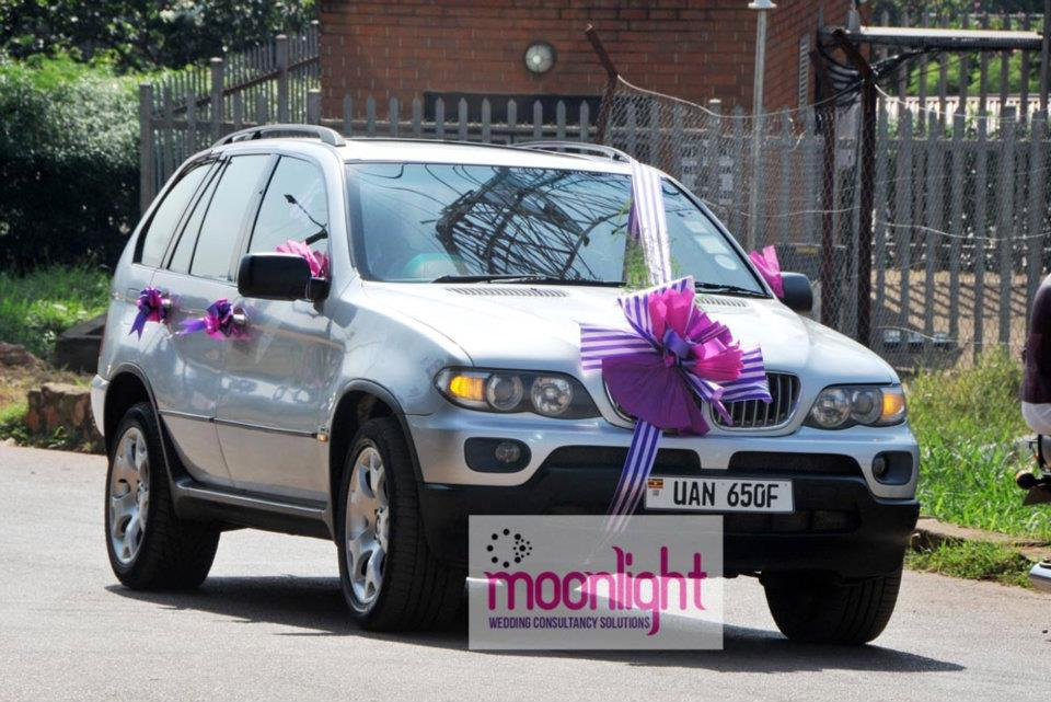The BMW X5 for bridal car services, Moonlight Wedding Consultancy Solutions