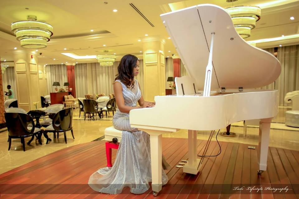 The grand piano in our Atrium