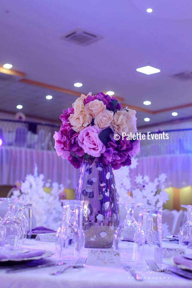 Geoffrey and Jacqueline's wedding decor by Palette Events