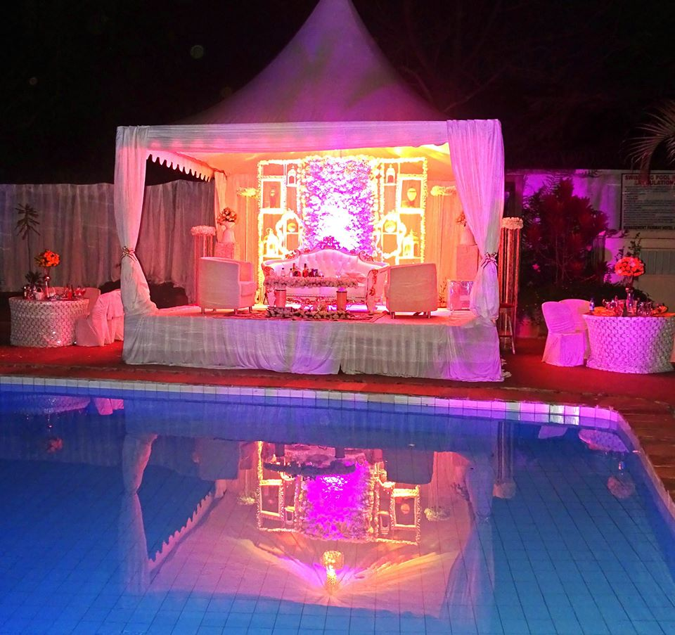 Wedding Reception at the Fairway Hotel & Spa Gardens