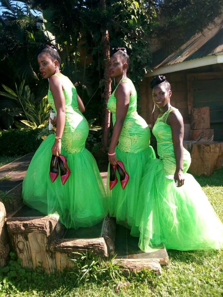 Bridesmaids dressed by Destiny bridals boutique