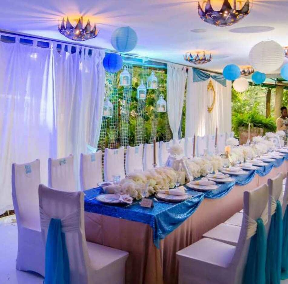 Dinner Decoration by Essie Events