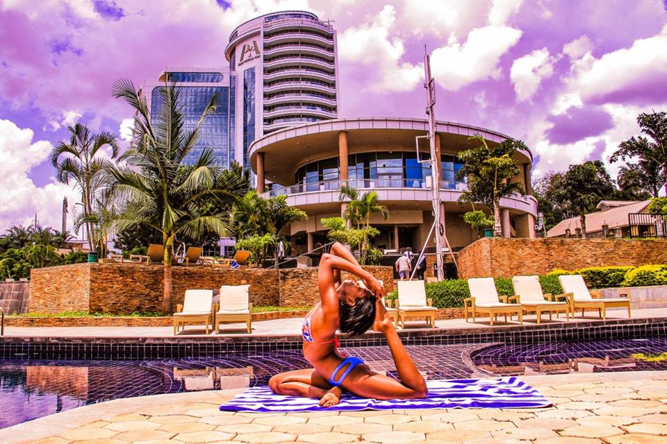 Take advantage of the infinity pools at our #PearlofAfricaHotel wellness center