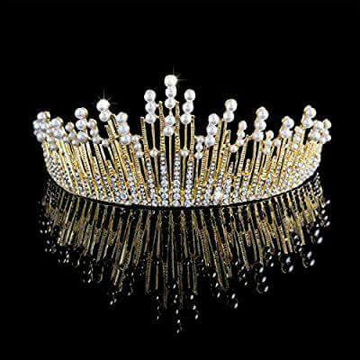 A unique Tiara from Bride to be