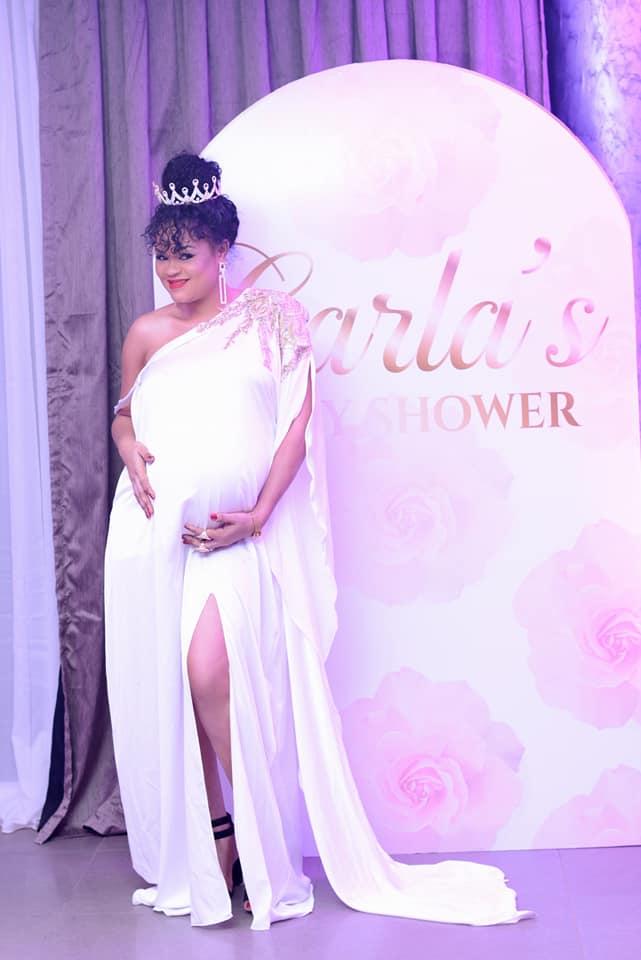 Baby shower makeup by Nahya Makeup Studio