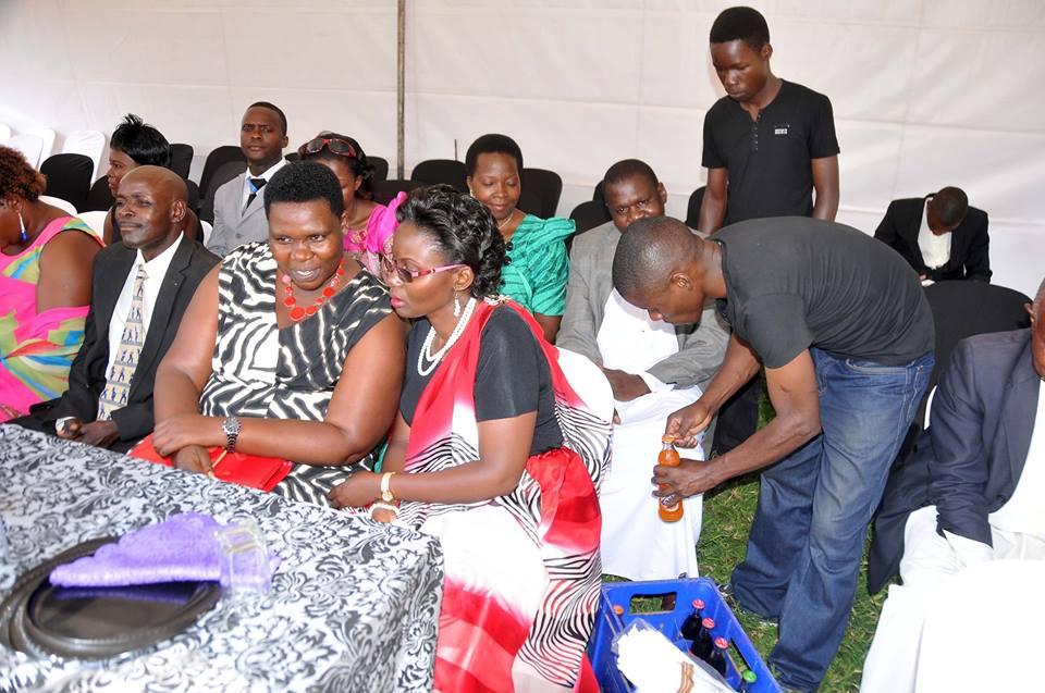 Moments from Patience Kobusingye & Katamba's customary wedding as Semau Drinks serve guests