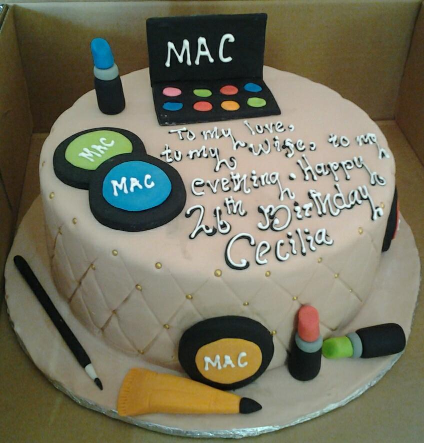 Cecillia's unique birthday cake by Rumi Cake Shop
