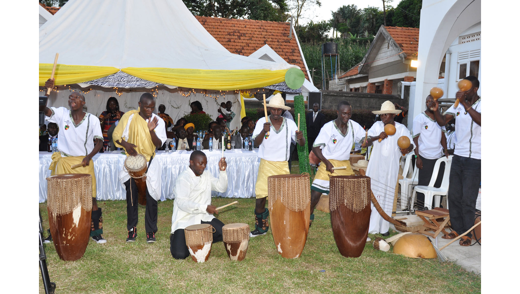 Cultural troupes perform at an introduction, shots powered by Dream Occasions Ug