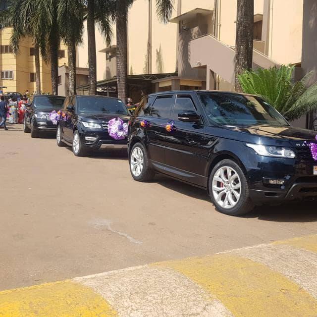 The Rang Rover fleet