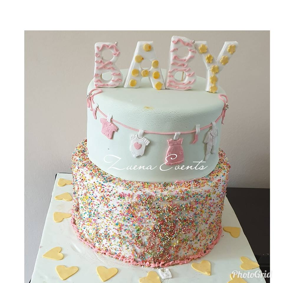 Baby shower cake by Zuena Events