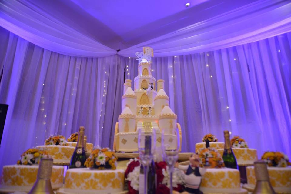 Wedding Decor Set up by Evannah