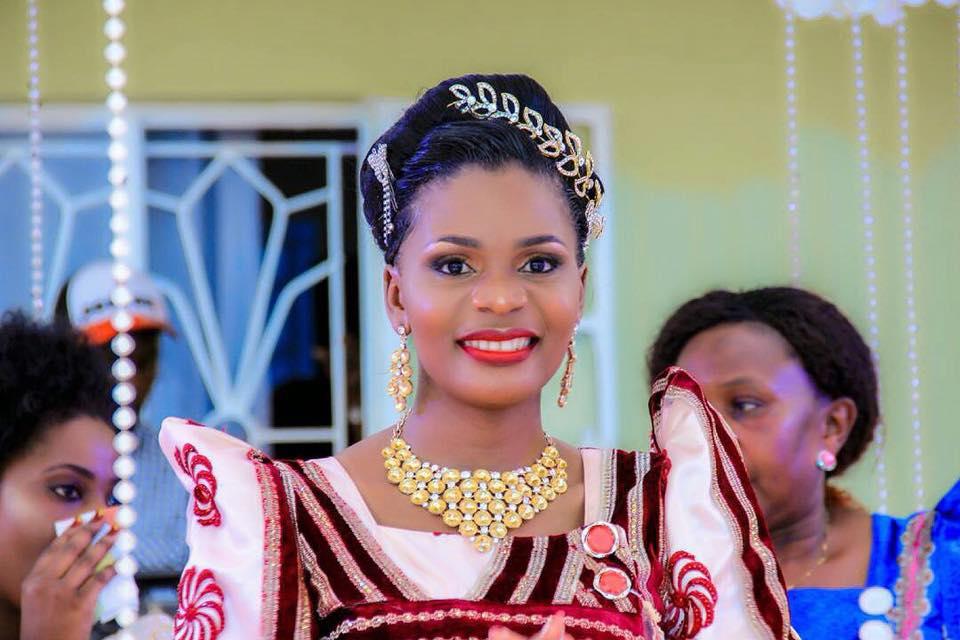 Keisha's Kwanjula Make up by Nahya