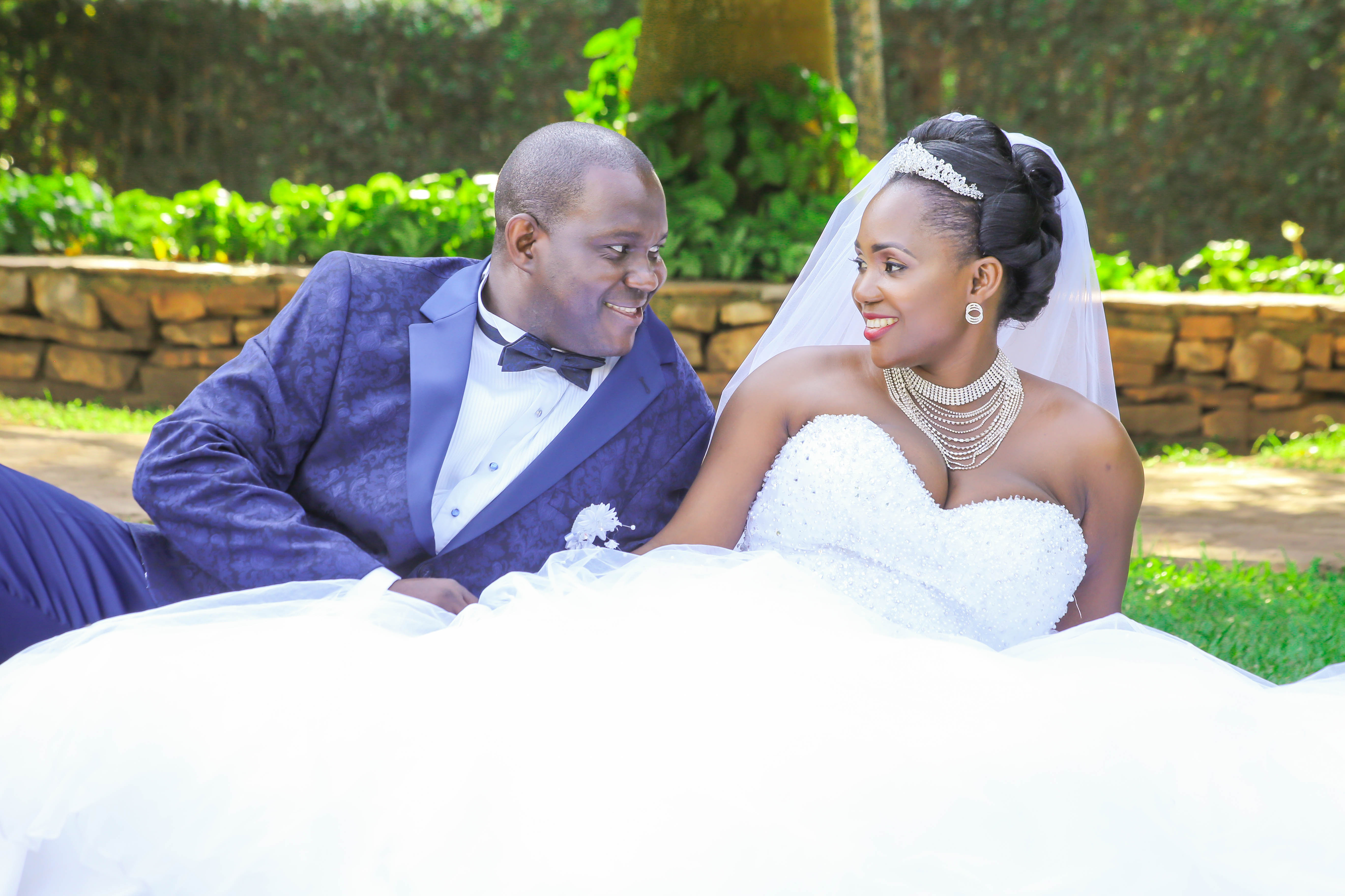 Emmanuel and Dorothy Slaying It on there Wedding
