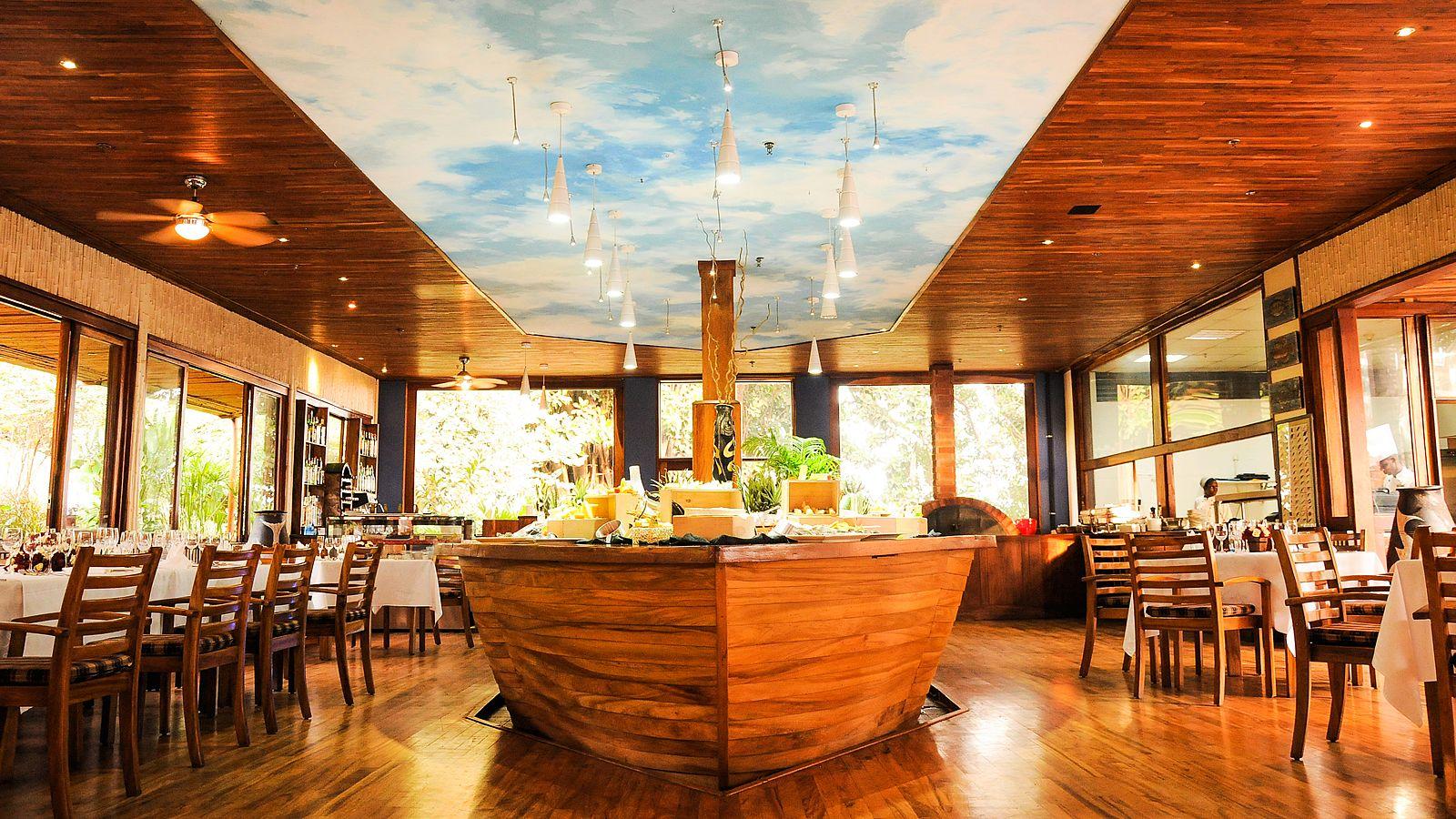 Seven Seas Restaurant Setting