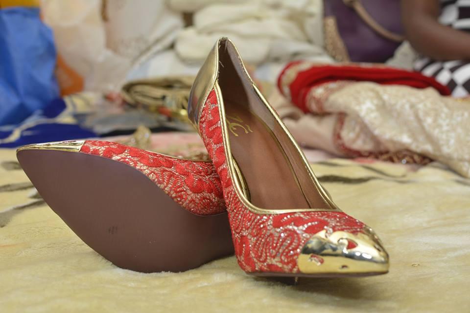 Bridal Foot wear at Kushona Designs