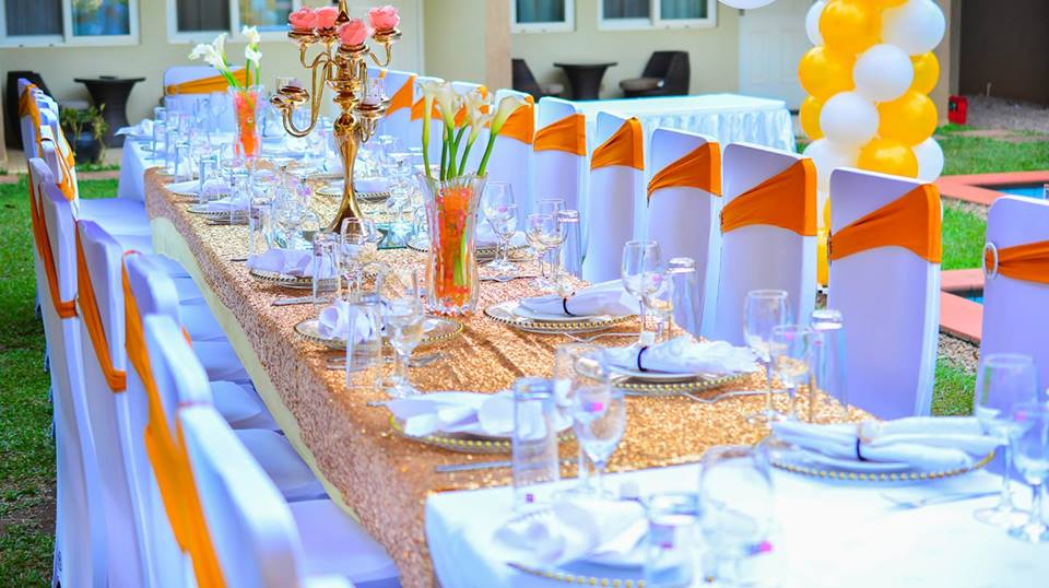 Outdoor Decor Setup by Essie Events