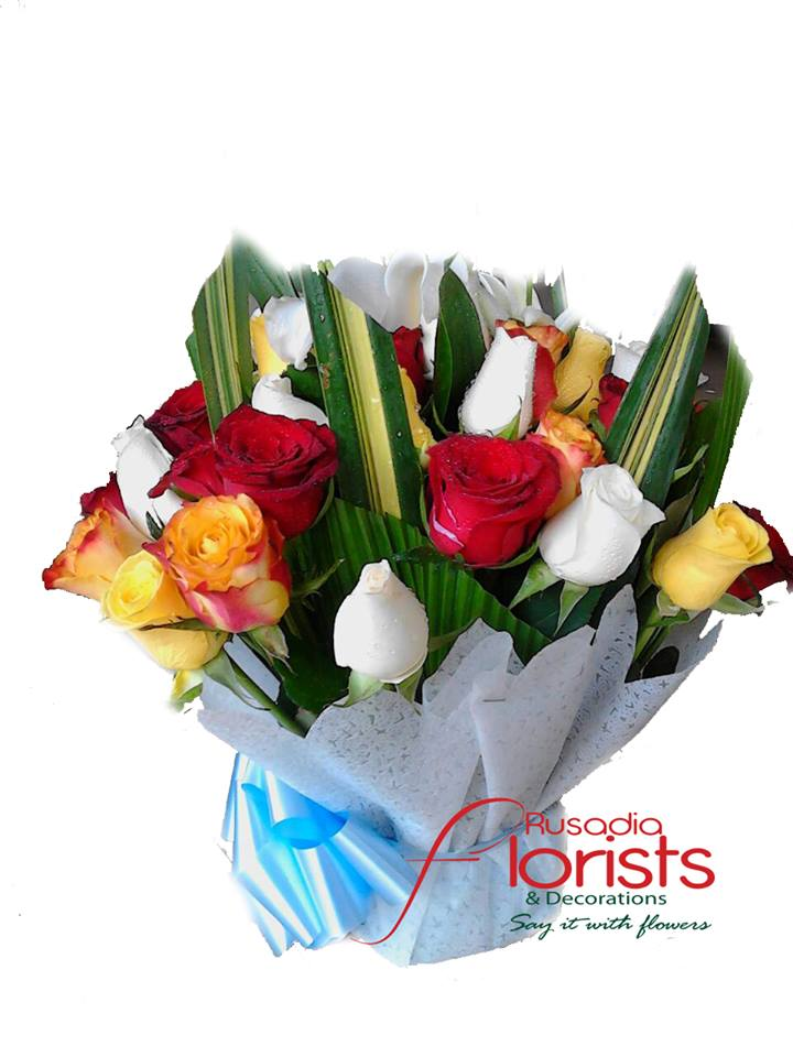 Amazing flowers from Rusadia Florists and Decorations