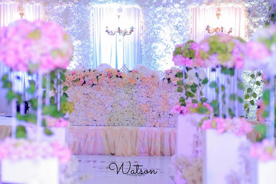 Wedding reception by Watson Photography