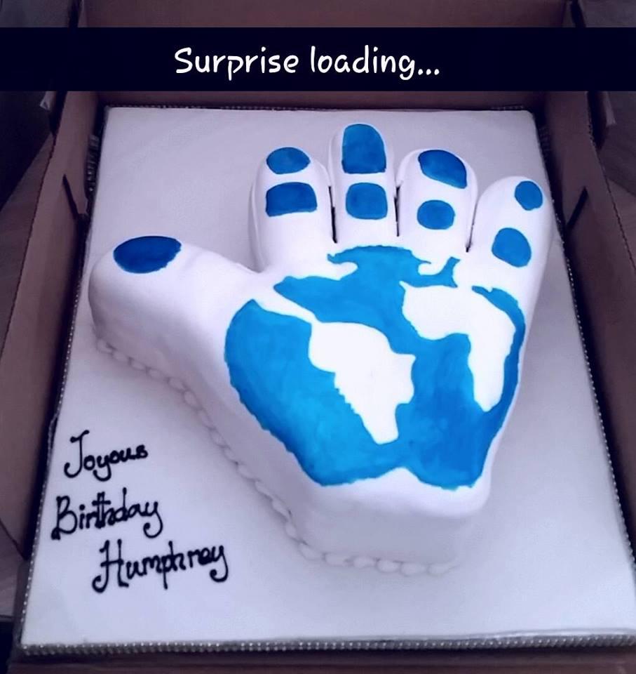 Humphrey's palm inspired birthday