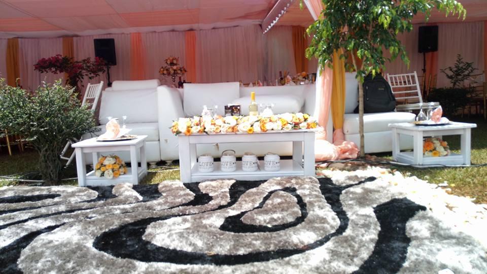 Kwanjula High Table Set