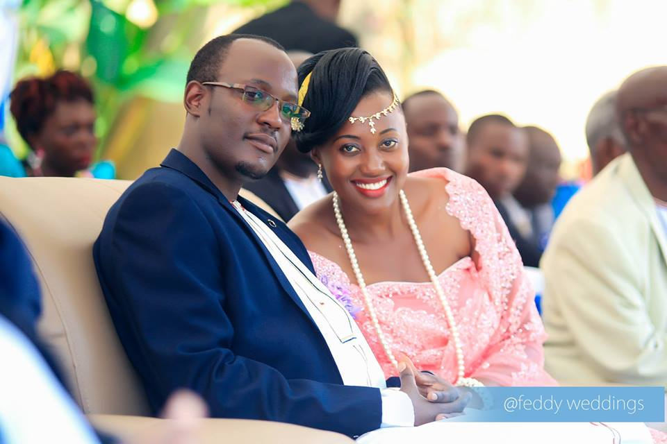 Stella and her hubby at their introduction ceremony, shots by Feddy Weddings