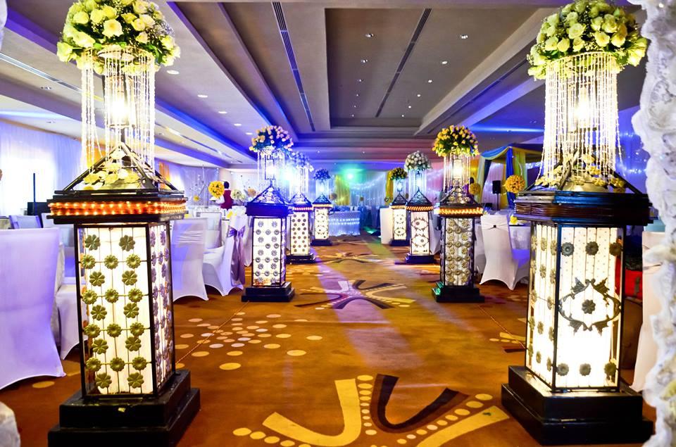 Wedding set Up at Royal Suites Hotel Bugolobi