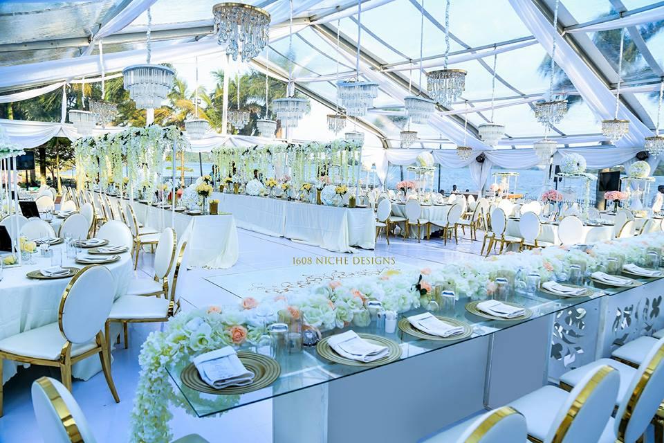 Skyline + Chrome Affair. The wedding of Komujuni AlleNicia & Henry